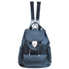 Court Couture Hampton Backpack (Black) - Court Couture