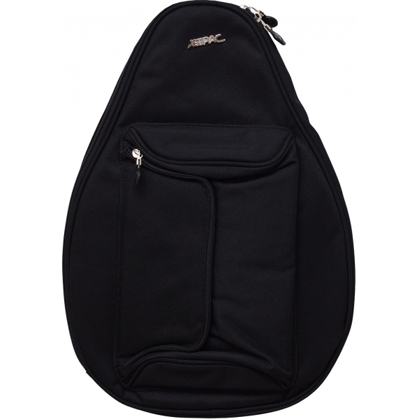 Jet Black Mini Backpack