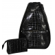 40 Love Courture Black Croc Betsy Tennis Backpack - 40 Love Courture Betsy Medium Tennis Backpack
