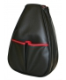 40 Love Courture Black Faux Leather Sophie Backpack - Designer Tennis Backpacks