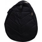 Jet Black Washed Nylon Junior Sling - Jet Junior Tennis Bags