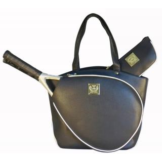 Court Couture Cassanova  Bag (Black Pebble)