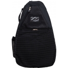 Jet Black T-Strap Tennis Bag - Best Sellers