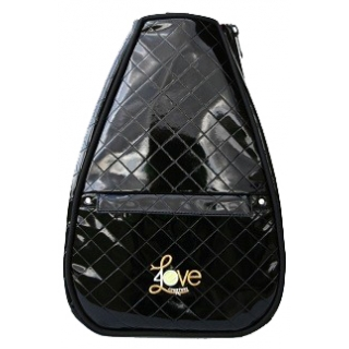 40 Love Courture Black Quilt Betsy Tennis Backpack