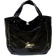 40 Love Courture Black Quilt Charlotte Tote - Tennis Tote Bags