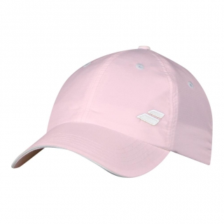 Babolat Basic Logo Tennis Cap (Blushing Bride)