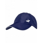 Babolat Basic Logo Tennis Cap (Dress Blue) - Babolat Hats, Caps, and Visors