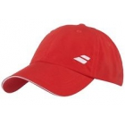 Babolat Basic Logo Tennis Cap (Fiery Red) - Babolat Hats, Caps, and Visors