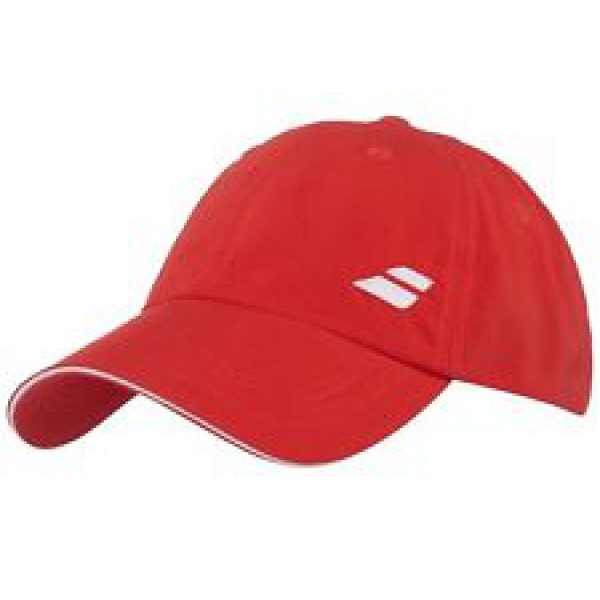 Babolat Basic Logo Tennis Cap (Fiery Red)