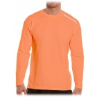 Bloq-UV Men's Jet-Tee Long Sleeve Top (Tangerine) - Men's Tops
