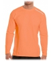 Bloq-UV Men's Jet-Tee Long Sleeve Top (Tangerine) - Men's Long-Sleeve Shirts