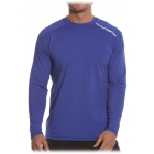 Bloq-UV Men's Jet-Tee Long Sleeve Top (Twilight Blue) - Men's Tops