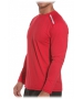 Bloq-UV Men's Jet-Tee Long Sleeve Top (Red) - Men's Long-Sleeve Shirts