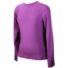 Bloq-UV 24/7 Long Sleeve Top (Purple) - Women's Outerwear Warm-Ups Tennis Apparel