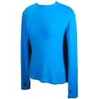 Bloq-UV 24/7 Long Sleeve Top (Turquoise) - Women's Outerwear Warm-Ups Tennis Apparel