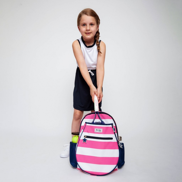Ame & Lulu Big Love Junior Tennis Backpack (Candy)
