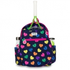 Ame & Lulu Big Love Junior Tennis Backpack (Rainbow Serve) -