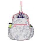 Ame & Lulu Big Love Junior Tennis Backpack (Grey Camo) - Junior Tennis Bags & Backpacks