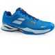 Babolat Men's Jet Mach I AC Tennis Shoe (Blue/White)  - Men's Tennis Shoes