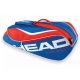 Head Tour Team 6 Pk Combi Tennis Bag (Blue/Red) - Head Tennis Bags