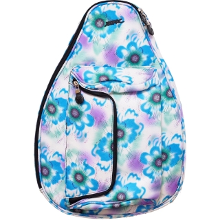 Jet Blue Tropical Mini Backpack