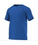 Adidas Men's Ultimate Tee (Blue) - New Style Tennis Apparel