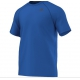Adidas Men's Ultimate Tee (Blue) - Men's Tops Tennis Apparel