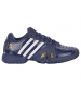 Adidas Barricade Novak Pro Mens Tennis Shoes (Blue/ Gold/White)  - Tennis Shoes