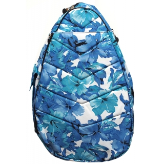 Jet Blue Leafy Large Sling Tennis Bag