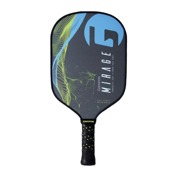 Gamma Mirage Poly Core Pickleball Paddle (Blue)