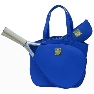 Court Couture Cassanova Tennis Bag (Blue Pebble)