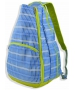 All For Color Blue Rattan Tennis Backpack - All for Color Tennis Bags