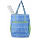 All For Color Blue Rattan Tennis Shoulder Bag - All for Color Tennis Bags
