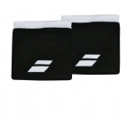 Babolat Logo Wristband (Black/White)  - Babolat Headbands & Wristbands
