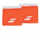 Babolat Logo Wristband (Flame/White) - Tennis Apparel Brands
