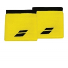 Babolat Logo Wristband (Yellow/Black) - Babolat Headbands & Wristbands