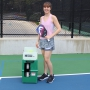 The Pickleball Tutor Plus Portable Ball Machine (Oscillation & Spin)