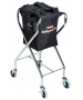 Tourna Ballport 180 Ball Travel Tennis Teaching Cart - Ball Hoppers & Carts that Hold More than 100 Tennis Balls