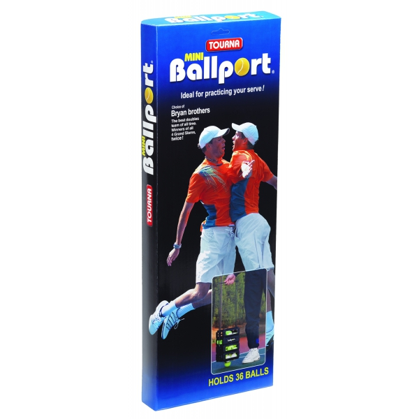 Tourna Ballport Mini 36-Ball Tennis Ball Hopper