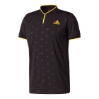 Adidas Men's U.S. Open Series Tennis Polo (Black) - Adidas Tennis Apparel