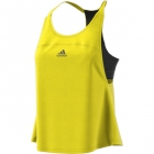 Adidas Women's US Open Tennis Tank (Bright Yellow/Black) - Adidas