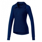 Adidas Women's Performer Baseline 1/4 Zip WarmUp Jacket (Collegiate Royal/Black) - Adidas Women's Tennis Dresses, Jackets & Pants