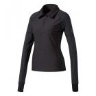 Adidas Women's Performer Baseline 1/4 Zip WarmUp Top (Black) - Adidas Women's Tennis Dresses, Jackets & Pants