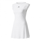 Adidas Women's London Line Tennis Dress (White) - Tennis Apparel Brands