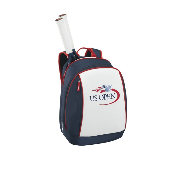 Wilson US Open Junior Tennis Racquet bundled with a US Open Tennis Backpack