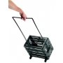 Tourna Ballport Deluxe 80-Ball Wheeled Tennis Ball Hopper