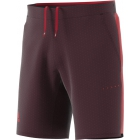 Adidas Men's Barricade Woven Tennis Shorts (Dark Burgundy/Scarlet) - Adidas Tennis Apparel