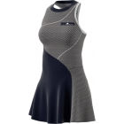 Adidas by Stella McCartney Barricade Tennis Dress (Legend Blue/White) - Adidas Tennis Apparel