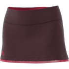 Adidas Women's US Open Tennis Skirt (Dark Burgundy/Energy Pink) - Adidas