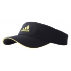Adidas ClimaLite Visor (Black/Bright Yellow) - Tennis Accessories